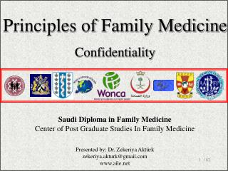 Saudi Diploma in Family Medicine Center of Post Graduate Studies In F amily  M edicine