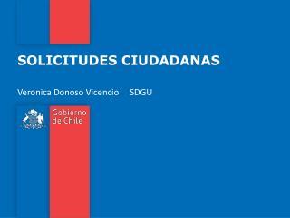 SOLICITUDES CIUDADANAS