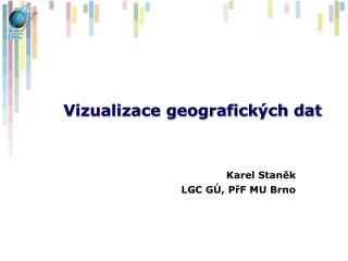 Vizualizace geografických dat