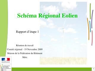 Schéma Régional Eolien