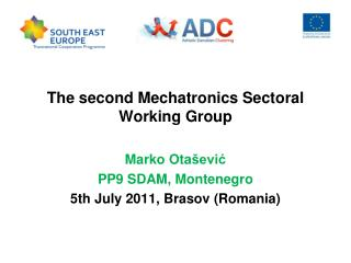 The second Mechatronics Sectoral Working Group