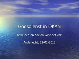 Godsdienst in OKAN