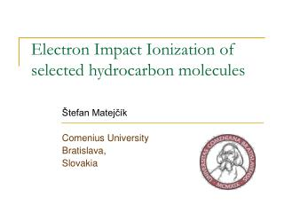 Electron Impact Ionization of selected hydrocarbon molecules