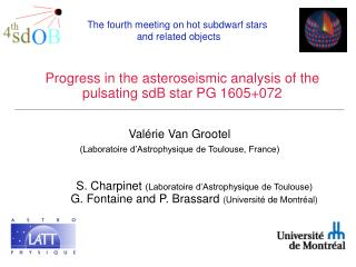 Progress in the asteroseismic analysis of the pulsating sdB star PG 1605+072