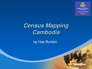 Census Mapping Cambodia