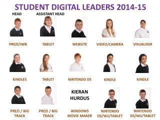 STUDENT DIGITAL LEADERS 2014-15