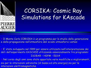 CORSIKA: Cosmic Ray Simulations for KAscade