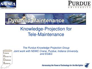 Knowledge-Projection for Tele-Maintenance