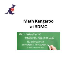 Math Kangaroo at SDMC