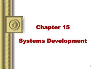 Chapter 15 Systems Development