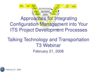 Approaches for Integrating Configuration Management into Your ITS Project Development Processes
