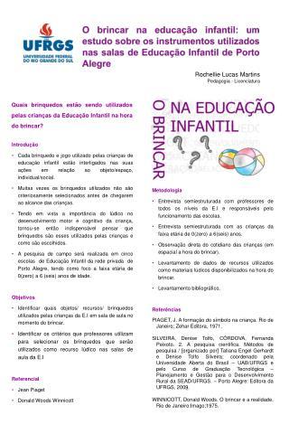 Rochellie Lucas Martins Pedagogia - Licenciatura