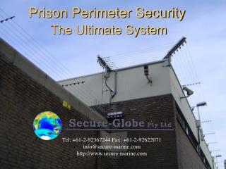 Prison Perimeter Security The Ultimate System