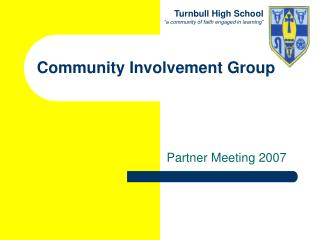 Community Involvement Group