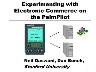 Experimenting with Electronic Commerce on the PalmPilot