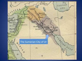 The Sumerian City of Ur