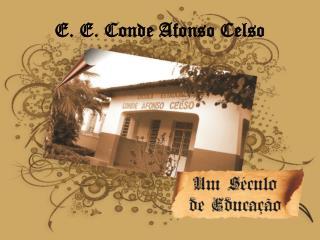 E. E. Conde Afonso Celso