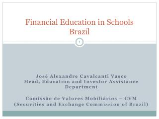 Financial Education in Schools Brazil