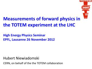 Measurements of forward physics in the TOTEM experiment at the LHC