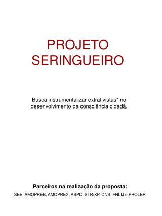 PROJETO SERINGUEIRO