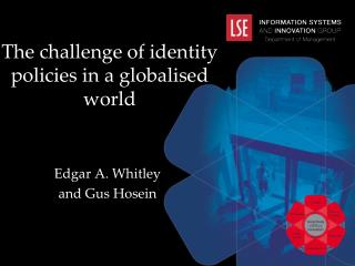 The challenge of identity policies in a globalised world