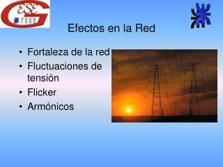 Efectos en la Red