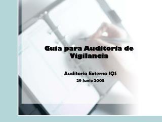 Guía para Auditoria de Vigilancia