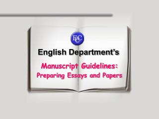 English Department's