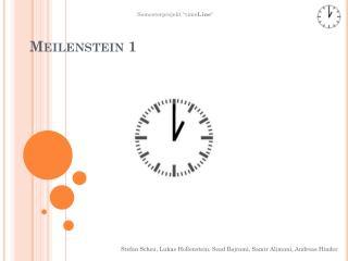 Meilenstein 1
