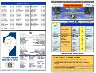 Beryl Dryden241-0888 Jim Dunford 249-3593 Bill Fogg 249-5129 Erica Godamunne821-9842