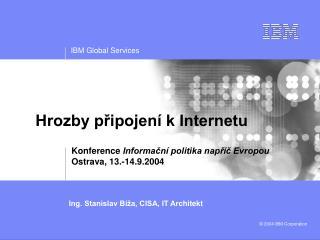 Hrozby připojení k Internetu