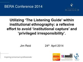 BERA Conference 2014