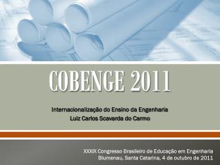 COBENGE 2011