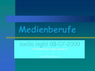 Medienberufe
