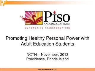 Piso and Associates LLC