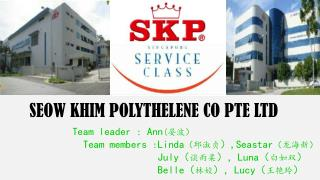 SEOW KHIM POLYTHELENE CO PTE LTD
