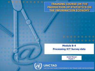 Module B-4: Processing ICT survey data