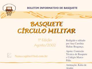 BASQUETE CÍRCULO MILITAR