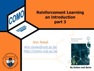 Reinforcement Learning an introduction part 3