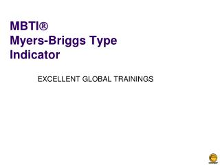 MBTI  Myers-Briggs Type Indicator