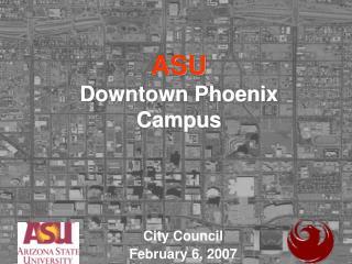 ASU Downtown Phoenix Campus