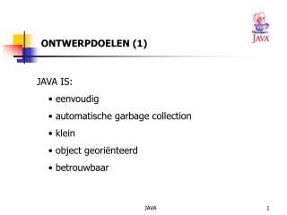 ONTWERPDOELEN (1)