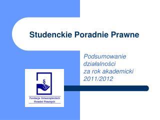 Studenckie Poradnie Prawne