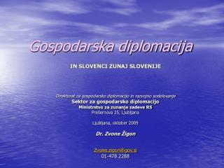 Gospodarska diplomacija