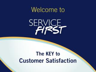 Service First Objectives