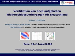 Bonn, 10./11. April 2008