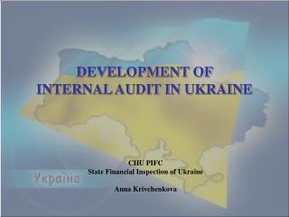 DEVELOPMENT OF INTERNAL AUDIT IN UKRAINE