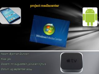 project mediacenter