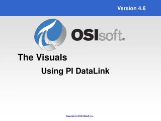 Using PI DataLink