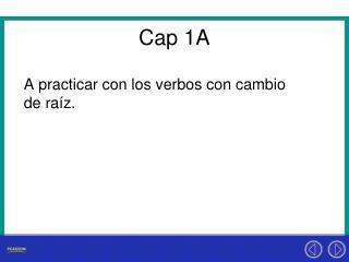 Cap 1A